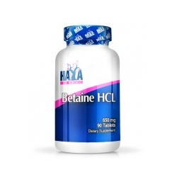 Betaine HCL ( 650 Mg ) - 90 Tabletas De Haya Labs