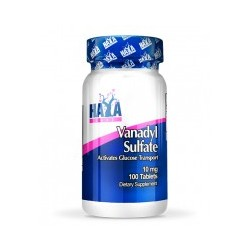Sulfato De Vanadio (10Mg) - 100 Tabletas De Haya Labs