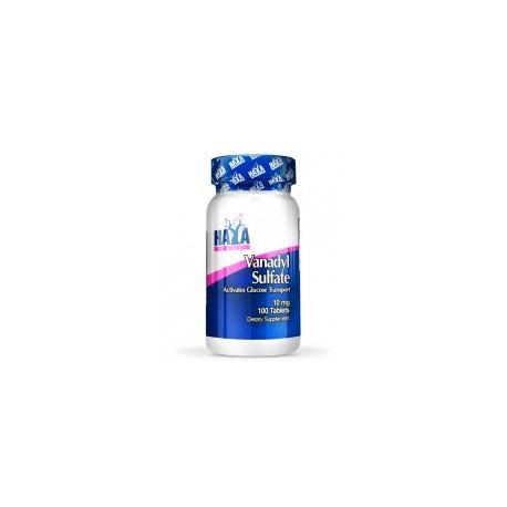 Sulfato De Vanadio (10Mg) - 100 Tabletas De Haya Labs