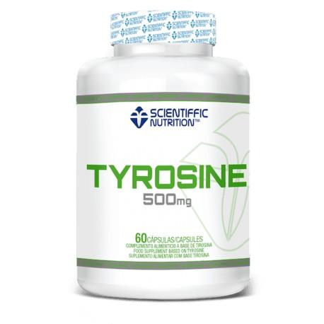 L-Tirosina (60 capsulas) De Scientiffic Nutrition