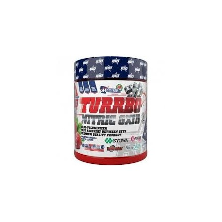 Turbo oxido nitrico (265gramos) Big Nutrition