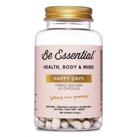 Happy days (60 capsulas) Be Essental