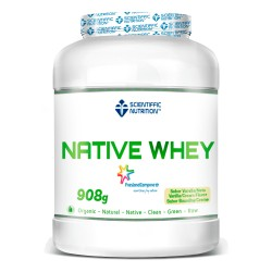 Native Whey (908 Gramos) Scientiffic Nutrition