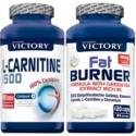 Pack L-Carnitine 1500 + Fat Burner de Victory