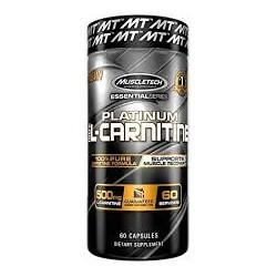 Platinum L-Carnitine 100% (60 cápsulas) de Muscletech