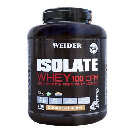 Isolate Whey 100 CFM (2kg) Weider