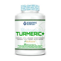 Turmeric (60 capsulas) Scientiffic Nutrition