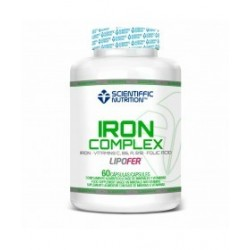 Iron Complex (60 capsulas) de Scientiffic Nutrition