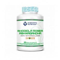 Rhodiola Rosea + Ashwagandha (60 capsulas) de Scientiffic Nutrition
