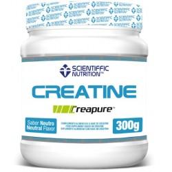 Creatina Creapure (300 gramos) de Scientiffic Nutrition