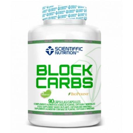 Block-Carb (90 capsulas) de Scientiffic Nutrition