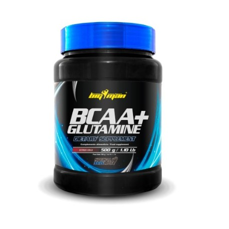 Bcaa + Glutamina (500 gr.) BIg Man