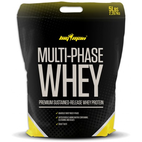 MultiPhase Whey + Avena de regalo (2,3 Kg)