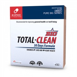 Total Clean ( 80 Cápsulas) BIG NUTRITION