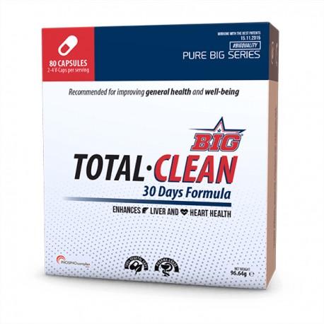 TOTAL CLEAN ( 80 CÁPSULAS) Big Nutrtion