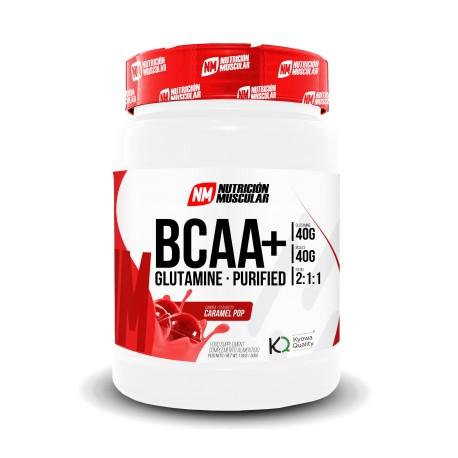 Bcaa + Glutamine (500 Gramos) Nutricion Muscular