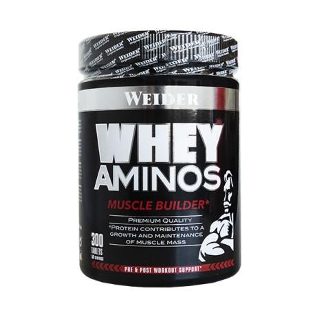 Whey Aminos (300 tabletas) Weider