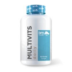 MULTIVITS 1GR( 60 Perlas · Softgel) BMHEALTH
