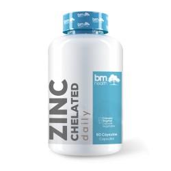 ZINC CHELATED (15mg-60caps) BMHEALTH