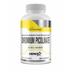 CHROMIUM PICOLINATE ( 100 caps ) - Hero Tech Nutrition