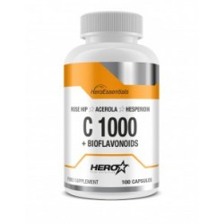 C1000+BIOFLAVONOIDS ( 100 caps ) - Hero Tech Nutrition