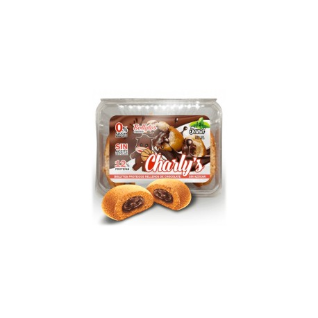 Charly's Bollitos Rellenos de Chocolate (5 uds-230 gr) PROTELLA