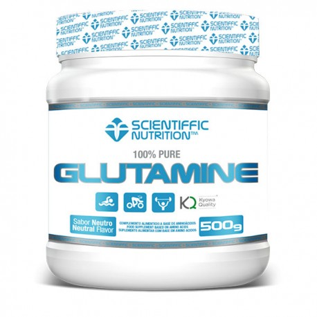 Glutamine (500 Gramos) Scientiffic Nutrition