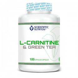 L-Carnitine & Green Tea (100 Capsulas) Scientiffic