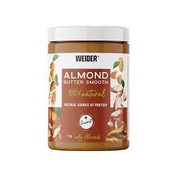 Almond Butter Smooth (1kg) WEIDER