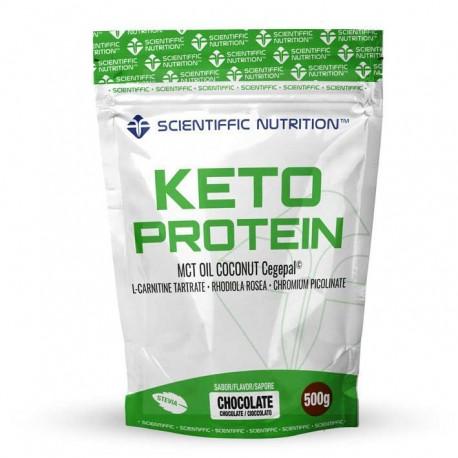 Keto Protein (500 gr) SCIENTIFFIC NUTRITION