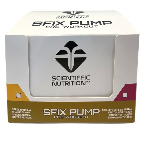 Sfix Pump (12 ud/60ml) SCIENTIFFIC NUTRITION