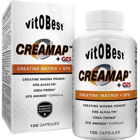 Creamap + GFS Aminos (100 capsulas) VIT.O.BEST