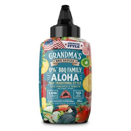 Salsa BBQ Aloha Style (290 ml) Max Protein