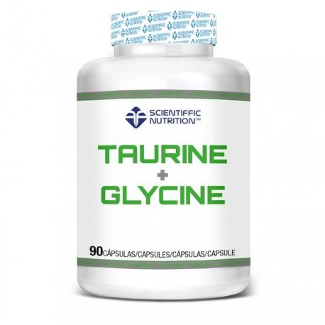 Taurine + Glycine (90 capsulas) SCIENTIFFIC NUTRITION