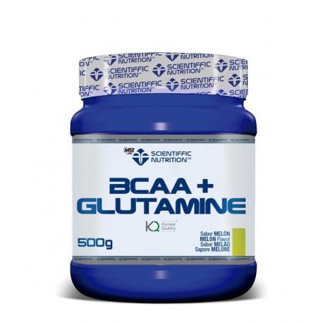 Bcaa + Glutamine (500 Gramos) Scientiffic Nutrition