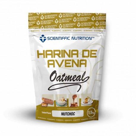 Harina de Avena (1.5 kg) Scientiffic