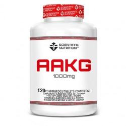 AAKG (120 capsulas) Scientiffic Nutrition