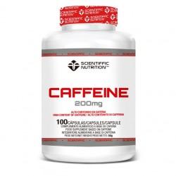 Cafeine 200 (100 Capsulas) Scientiffic Nutrition