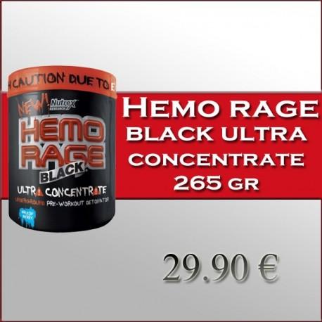 Hemo Rage Black Ultra Concentrate (265 Gramos)